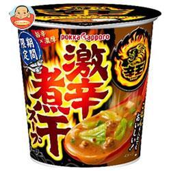 ポッカサッポロ 辛王 激辛煮干スープ カップ入り 21.4g×24(6×4)個入