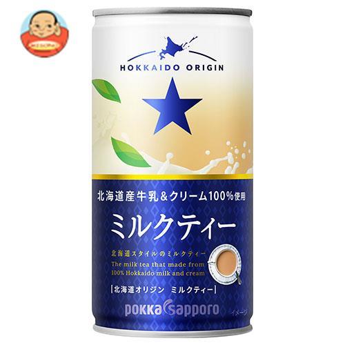 ポッカサッポロ 北海道オリジン ミルクティー 190g缶×30本入