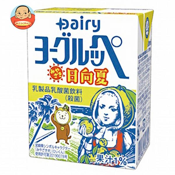 南日本酪農協同 デーリィ ヨーグルッペぶどう 200ml紙パック×24本入