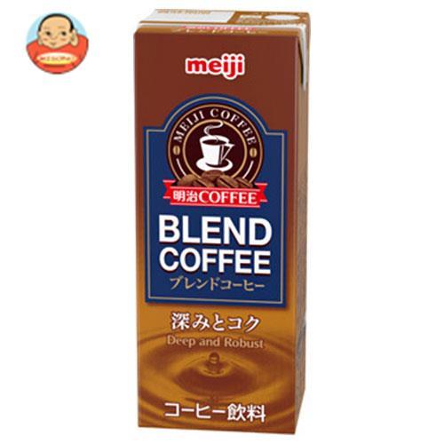 明治 COFFEE ブレンドコーヒー 200ml紙パック×24本入