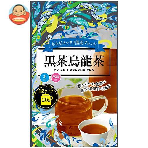 Tokyo Tea Trading Mug&Pot 黒茶烏龍茶 5g×20P×12袋入