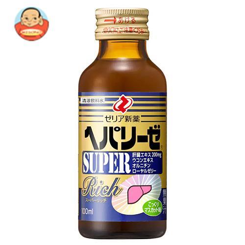 ゼリア新薬 ヘパリーゼ スーパーリッチ 100ml瓶×50(10×5)本入