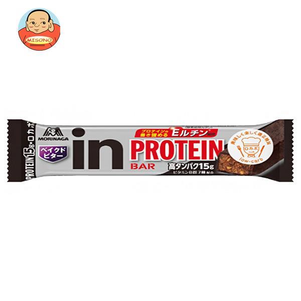 森永製菓 inバー プロテイン ベイクドビター 12本入
