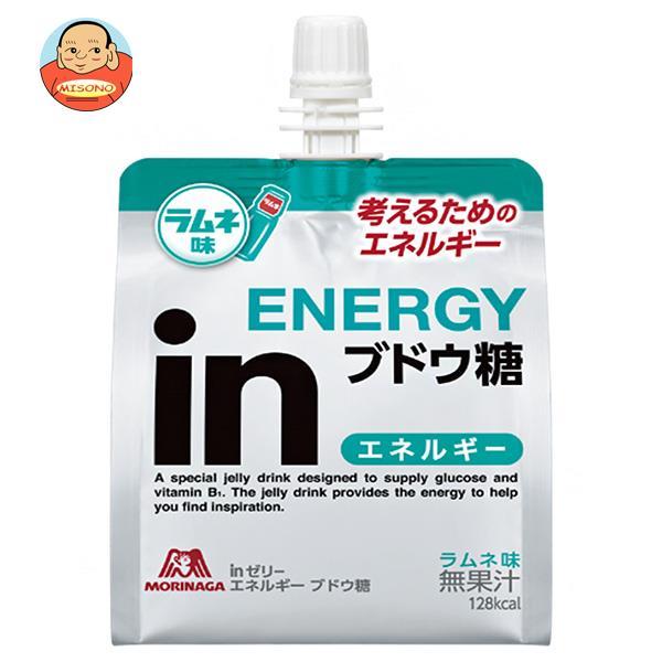 森永製菓 inゼリー エネルギー ブドウ糖 180gパウチ×30本入