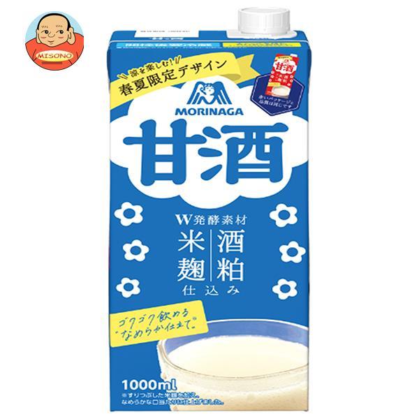 森永製菓 甘酒 1000ml紙パック×12(6×2)本入