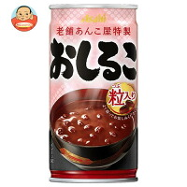 アサヒ飲料 おしるこ 190g缶×30本入