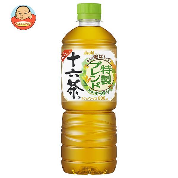 アサヒ飲料 十六茶【自動販売機用】 600mlペットボトル×24本入