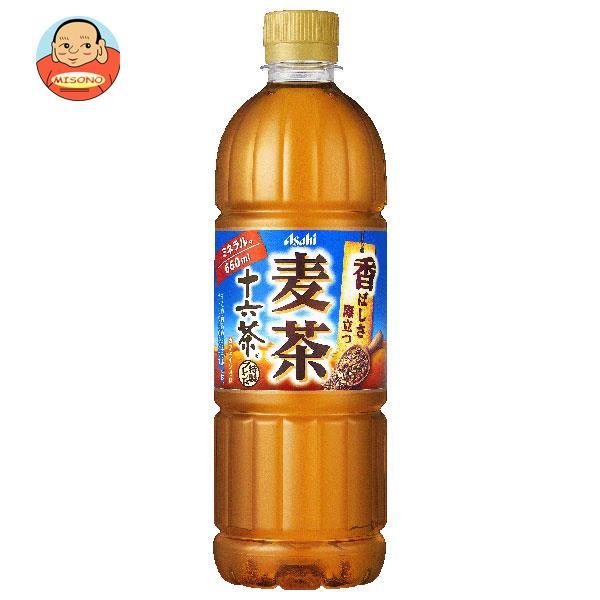 アサヒ飲料 十六茶麦茶 660mlペットボトル×24本入