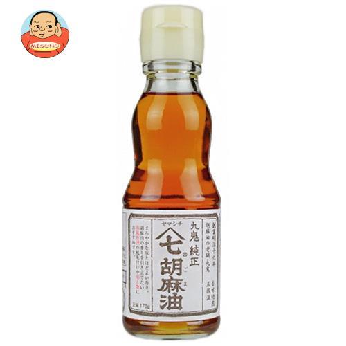 九鬼産業 ヤマシチ 純正胡麻油 170g瓶×12本入