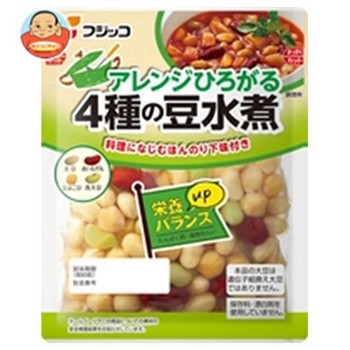 フジッコ アレンジひろがる4種の豆水煮 132g×12袋入