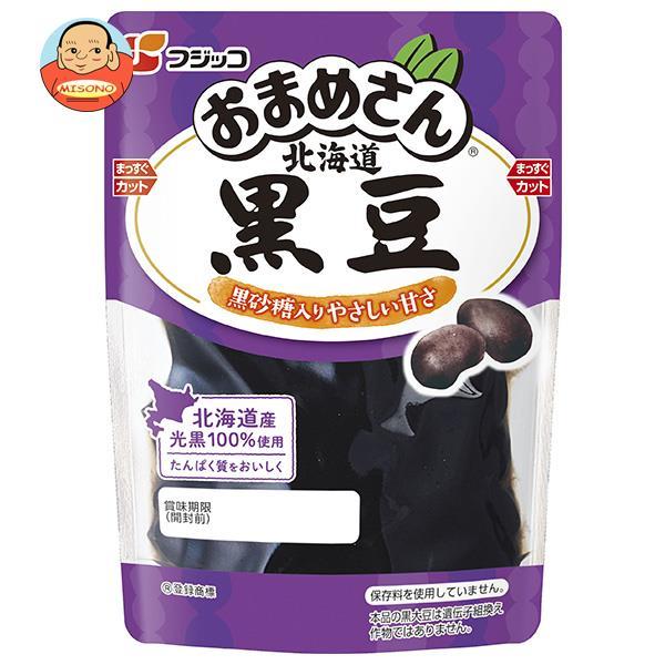 フジッコ おまめさん 北海道黒豆 118g×10袋入