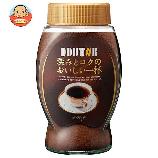 ドトールコーヒー 深みとコクのおいしい一杯 200g瓶×12本入