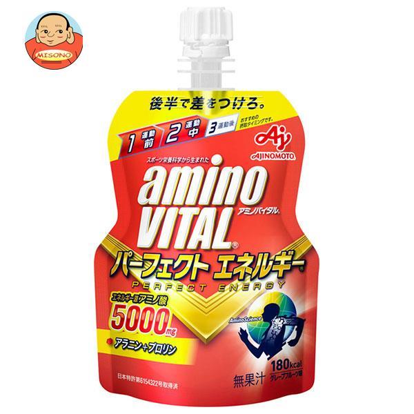 味の素 アミノバイタルゼリー パーフェクトエネルギー 130gパウチ×30(6×5)本入