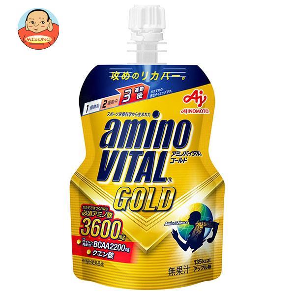 味の素 アミノバイタルGOLDゼリー 135gパウチ×30(6×5)本入
