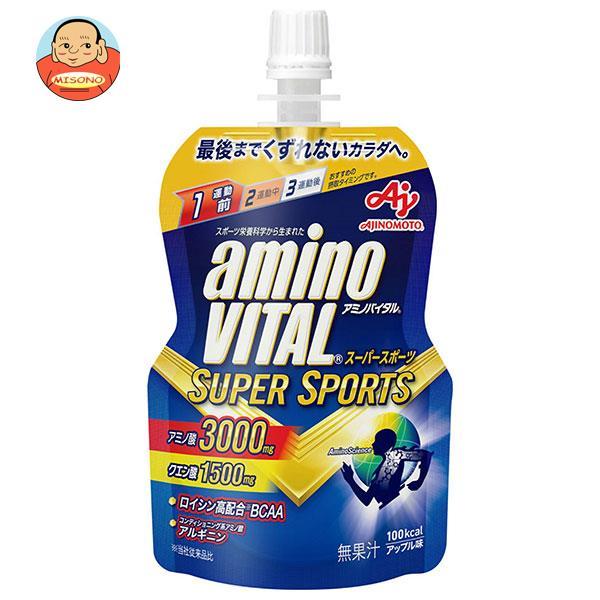 味の素 アミノバイタルゼリー SUPER SPORTS(スーパースポーツ) 100gパウチ×30本入