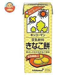 キッコーマン 豆乳飲料 きなこ餅 200ml紙パック×18本入
