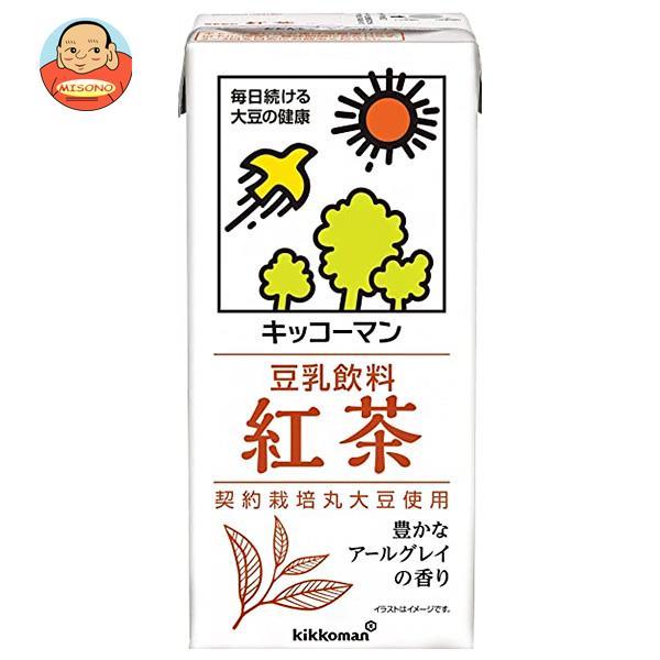 キッコーマン 豆乳飲料 紅茶 1000ml紙パック×12(6×2)本入