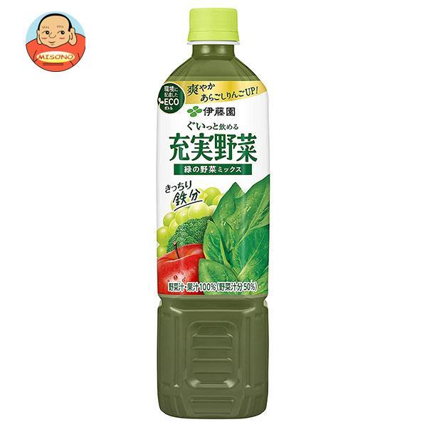 伊藤園 充実野菜 緑の野菜ミックス 930gペットボトル×12本入
