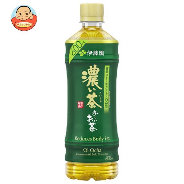 伊藤園 お~いお茶 濃い茶【手売り用】 525mlペットボトル×24本入