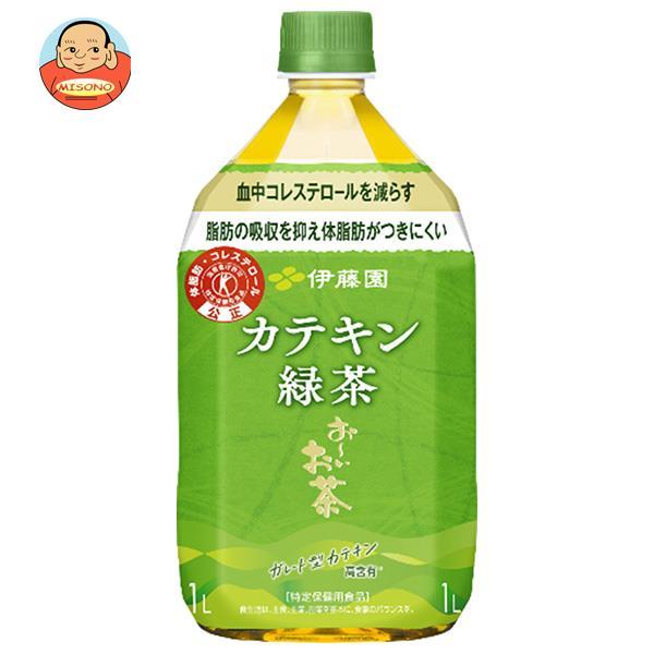 伊藤園 2つの働き カテキン緑茶【特定保健用食品 特保】 1Lペットボトル×12本入