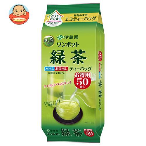伊藤園 ワンポット 抹茶入り緑茶 ティーバッグ 50袋入×10袋入