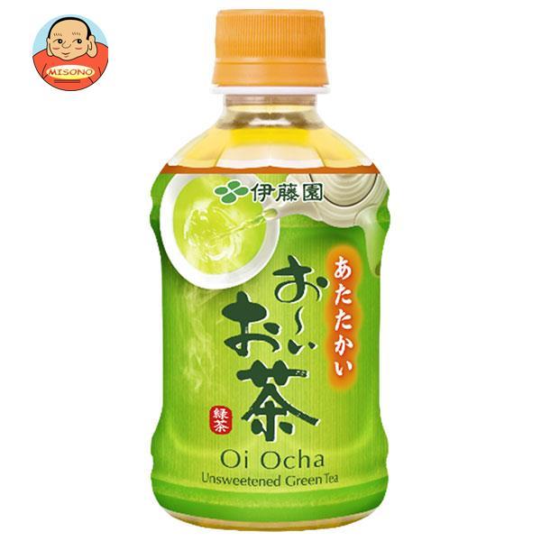 伊藤園 【HOT用】お~いお茶 緑茶 275mlペットボトル×24本入