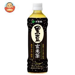 伊藤園 黒豆玄米茶 500mlペットボトル×24本入