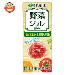伊藤園 野菜ジュレ 200ml紙パック×24本入