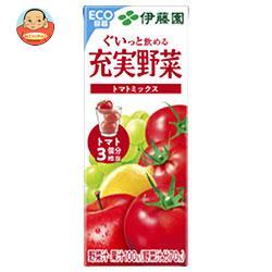 伊藤園 充実野菜 トマトミックス 200ml紙パック×24本入