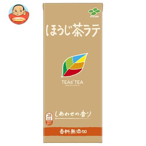 伊藤園 TEAs' TEA NEW AUTHENTIC ほうじ茶ラテ 250ml紙パック×24本入