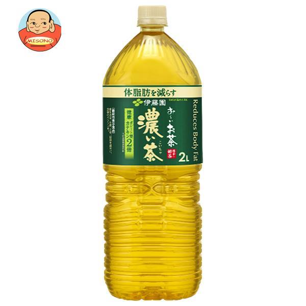 伊藤園 お~いお茶 濃い茶 2Lペットボトル×6本入