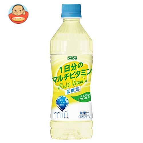 ダイドー miu ミウ 1日分のマルチビタミン 500mlペットボトル×24本入