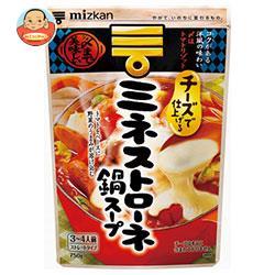ミツカン ミネストローネ鍋スープストレート 750g×12袋入