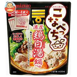 ミツカン こなべっち 濃厚鶏白湯鍋つゆ 28g×4個×10袋入