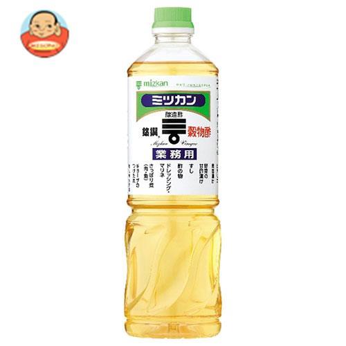 ミツカン 穀物酢(銘撰) 1LPET×12本入