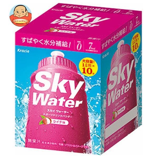 クラシエ スカイウォーターライチ味 1L用 (7g×2×5袋)×1箱入