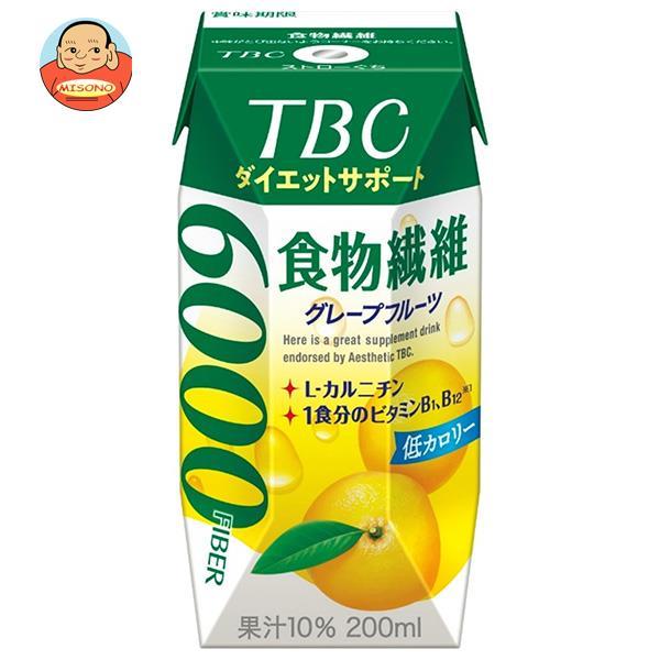 森永乳業 TBC ダイエットサポート 食物繊維(プリズマ容器) 200ml紙パック×24本入