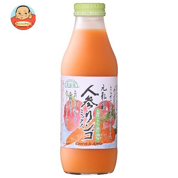 マルカイ 順造選 人参りんごミックス 500ml瓶×12本入
