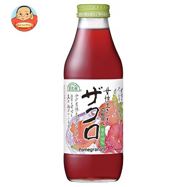 マルカイ 順造選 女性生きいきザクロジュース 500ml瓶×12本入