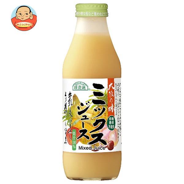 マルカイ 順造選 ミックスジュース 500ml瓶×12本入
