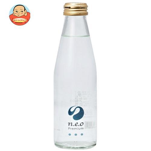 友桝飲料 n.e.o(ネオ) プレミアム ソーダ 200ml瓶×24本入