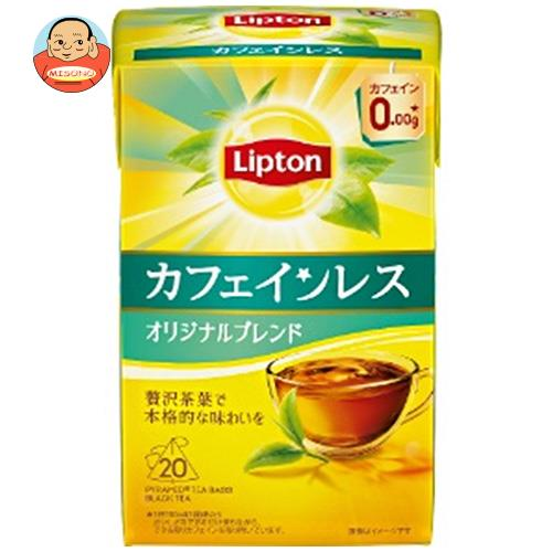 リプトン カフェインレスティー 20袋×6箱入