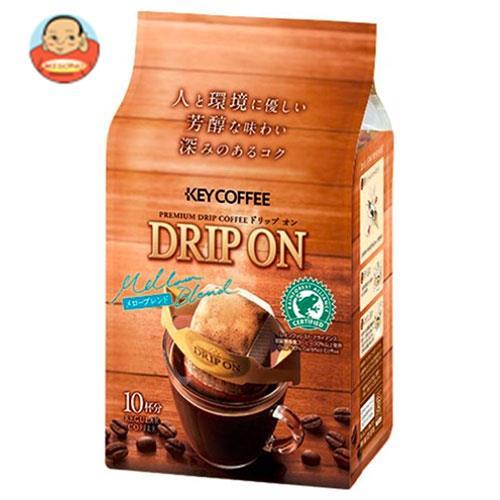KEY COFFEE(キーコーヒー) ドリップオン メローブレンド (8g×10袋)×6袋入