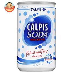 【賞味期限19.2月】【旧デザイン】カルピス カルピスソーダ 160ml缶×30本入