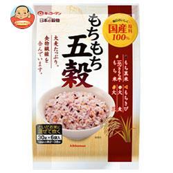 キッコーマン 日本の穀物 もちもち五穀 180g(30g×6)×12袋入