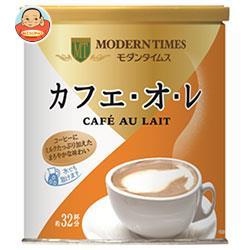 日本ヒルスコーヒー モダンタイムス カフェ・オ・レ 420g缶×12(6×2)個入