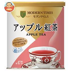 日本ヒルスコーヒー モダンタイムス アップル紅茶 380g缶×12(6×2)個入