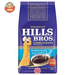 日本ヒルスコーヒー ヒルス ヨーロピアンブレンド(粉) 420g袋×12(6×2)袋入