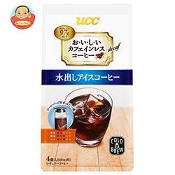 UCC おいしいカフェインレスコーヒー コーヒーバッグ 水出しアイスコーヒー (35g×4P)×12(6×2)袋入