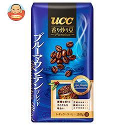 UCC 香り炒り豆 ブルーマウンテンブレンド(豆) 160g袋×12(6×2)袋入